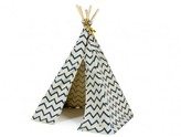 Nobodinoz Mini Cotton Teepee - Zig Zag Pattern