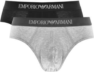 Giorgio Armani Emporio Underwear 2 Pack Boxer Briefs