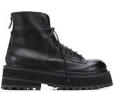 Marsèll platform lace up boots