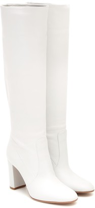 Gianvito Rossi Slouch 85 leather knee-high boots