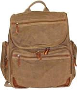 Dopp Men's Canvas Backpack - Tan School