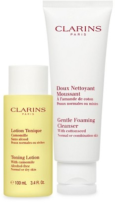 Clarins Limited Edition Cleansing Sensations 2-Piece Normal Or Combination Skin Set