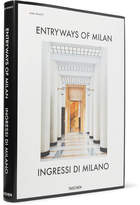 Taschen Entryways Of Milan Hardcover Book - White