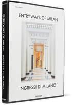 Taschen Entryways Of Milan Hardcover Book - White