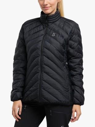 Haglöfs Sarna Mimic Women's Waterproof Jacket, True Black