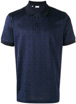 Brioni checked polo shirt - men - Cotton - XL