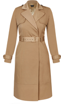 City Chic Classic Camel Trench