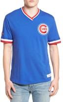 Mitchell & Ness Men's Chicago Cubs - Vintage V-Neck T-Shirt