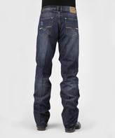 Stetson Dark Navy Wash Straight-Leg Jeans - Men's Regular