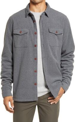 vuori Polartec(R) Water Repellent Fleece Shirt Jacket