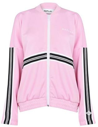 Replay Tech Fleece Sweatshirt With Zipper
