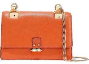 Valentino Garavani Studded Pebbled-leather Shoulder Bag