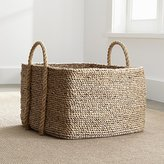 Crate & Barrel Tyler Square Basket with Rope Handle