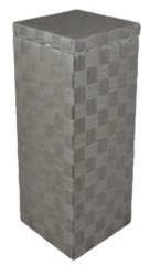 Baum Natural Cord Lined Laundry Hamper