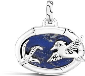 John Hardy Lapis Lazuli Amulet Pendant