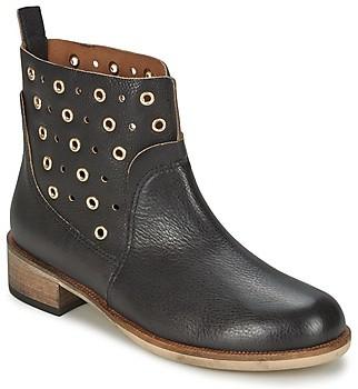 HUGO BOSS 50266292 women's Mid Boots in Black
