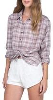 Volcom Women's Plaidazzle Shirt