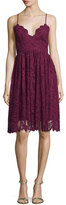 Zac Posen Sleeveless Lace Fit & Flare Dress