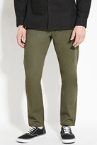 Forever 21 FOREVER 21+ Cotton Slim Fit Pants