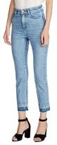 Maje Women's High Waist Straight Crop Jeans