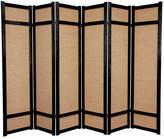 "World Menagerie 71"" x 84"" Clarke Shoji 6 Panel Room Divider"