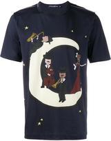 Dolce & Gabbana music moon print t-shirt - men - Cotton - 48