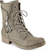 G by Guess Brylee Lace-Up Combat Booties