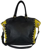 Oryany Black & Yellow Studded Purse