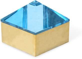 Jonathan Adler Medium Blue Monte Carlo Stud Box