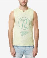 Buffalo David Bitton Men's Split-Neck Sleeveless T-Shirt