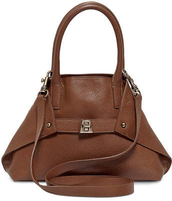 Akris Ai Cervo Extra-Small Messenger Bag, Brown