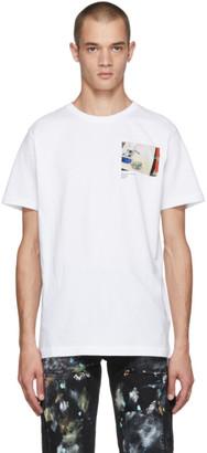 Virgil Abloh c/o SSENSE SSENSE Exclusive White CUTTING ROOM FLOOR Virgil Work Surface T-Shirt
