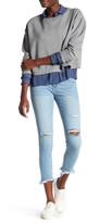 Just USA Unbalanced Crop Skinny Jean