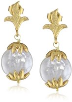 "Azaara Florentine"" Auxilio Pearl Drop Earrings"