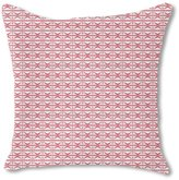 uneekee Mosaic Stripes Burlap Pillow