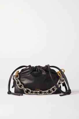 Yuzefi Bom Mini Chain-embellished Leather Tote - Black