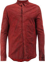 Giorgio Brato creased leather shirt