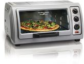 Hamilton Beach 6-Slice Easy Reach Toaster Oven