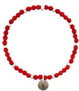 Eleventy beaded single charm bracelet