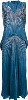 Stella McCartney sequin detail dress - women - Acetate/Viscose/Aluminium - 38