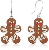 Dolci Gioie Gingerbread Man Earrings