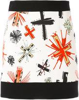 Fausto Puglisi printed skirt - women - Spandex/Elastane/Viscose - 40