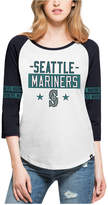 '47 Women's Seattle Mariners Triple Crown Raglan T-Shirt