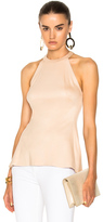 L'Agence Batista Sleeveless Top in Neutrals.