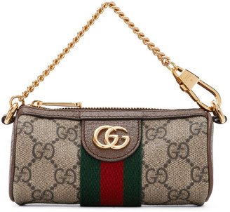 Gucci Beige Ophidia Money Pouch
