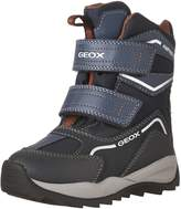 Geox Boy's J ORIZONT B B.ABX E Snow Boots, Grey/Lime