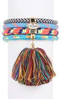 Rebecca Minkoff Climbing Rope Tassel Bracelet