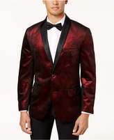 INC International Concepts I.N.C. Men's Classic-Fit Distressed Foil Blazer, Created for Macy's