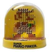 Nintendo Limited edition super Mario maker snow globe