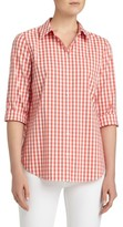 Lafayette 148 New York Women's Paget Gingham Blouse